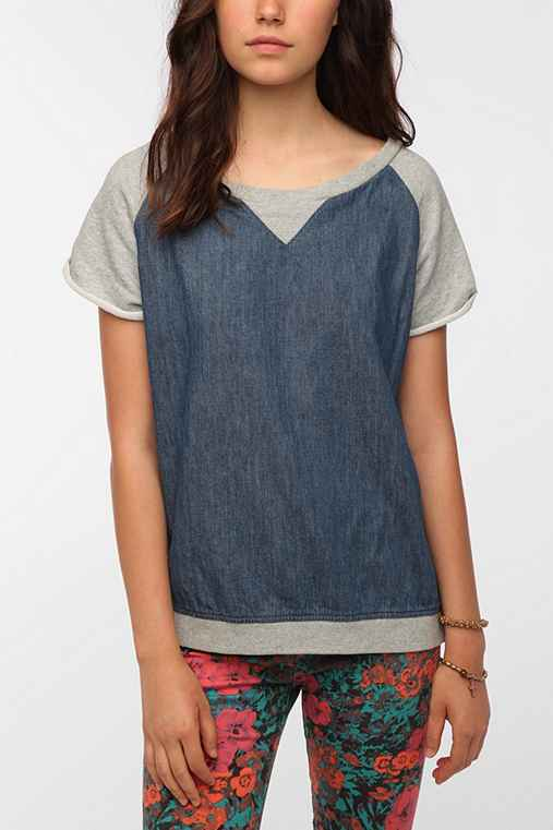 Insight Denim Diaries Short-Sleeved Sweatshirt