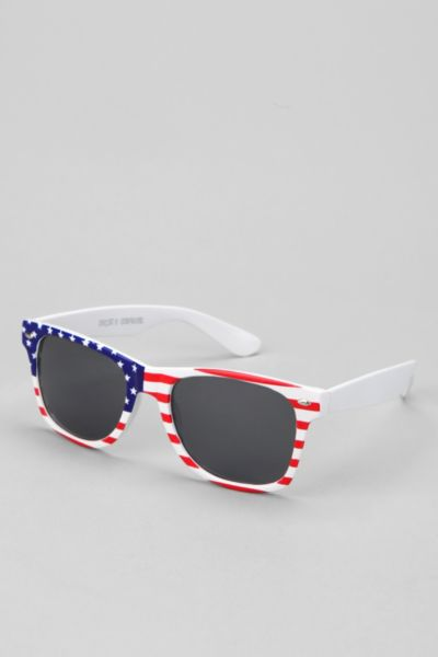 4th Of July Risky Sunglasses