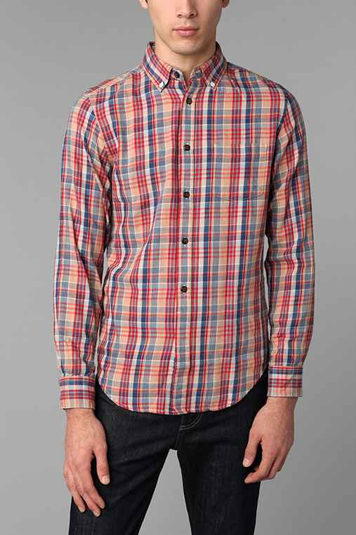 Virgin Poets Society, A Trovata Project Flannel Plaid Shirt