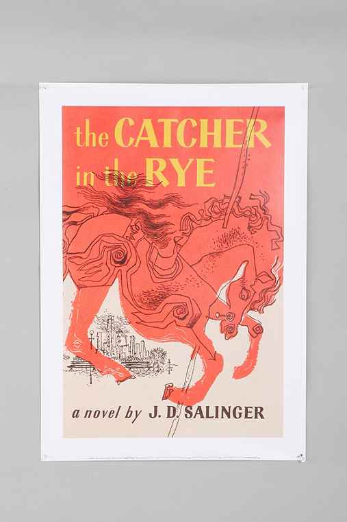 Thumbnail image for Catcher In The Rye Book Cover Poster