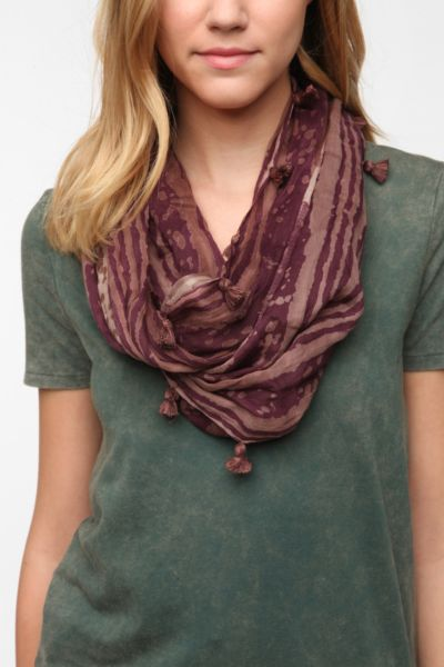 Staring at Stars Salt-Washed Eternity Scarf