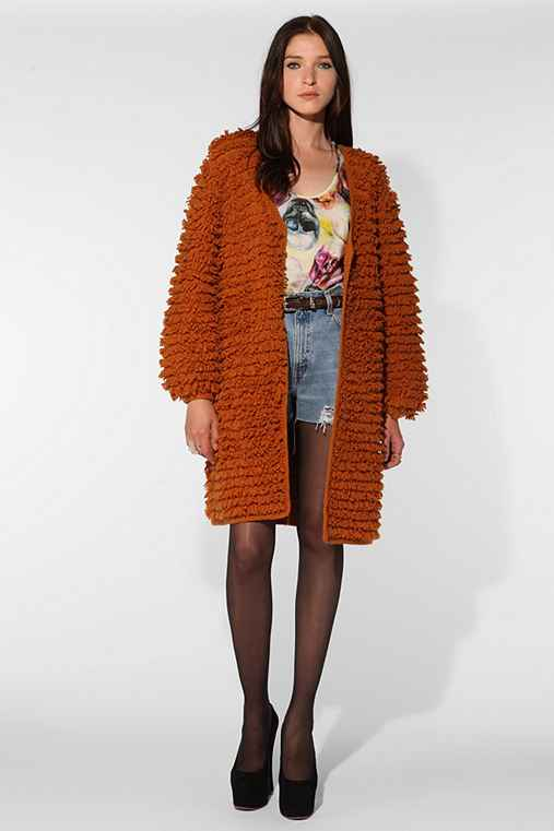 Stolen Girlfriends Club Fuzzy Cardigan