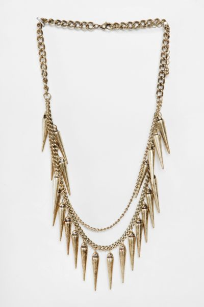 UO Bleecker Spike Necklace