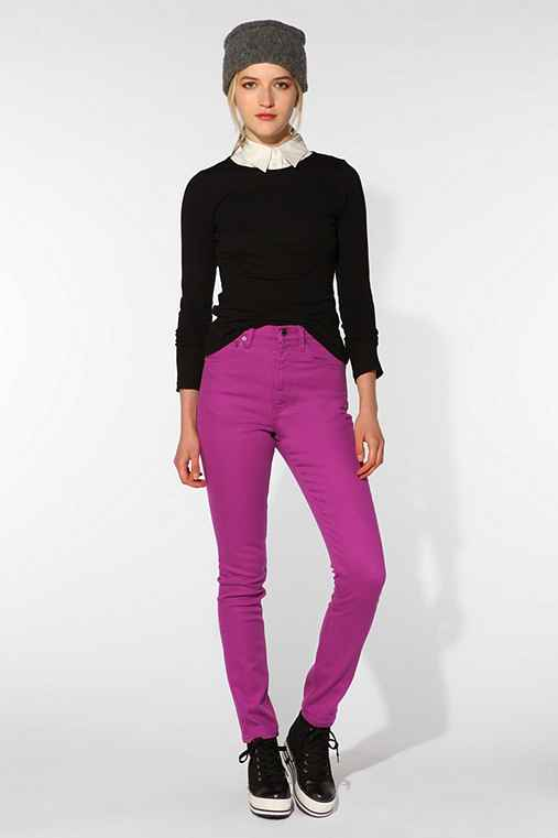 Wood Wood High-Waisted Slim Fit Jean