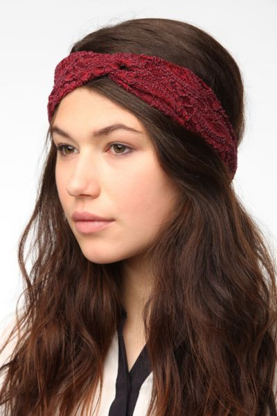 Twisted Lace Headwrap