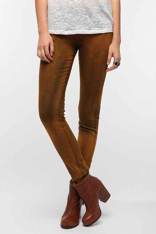 THVM Mid-Rise Skinny Jean - Honey