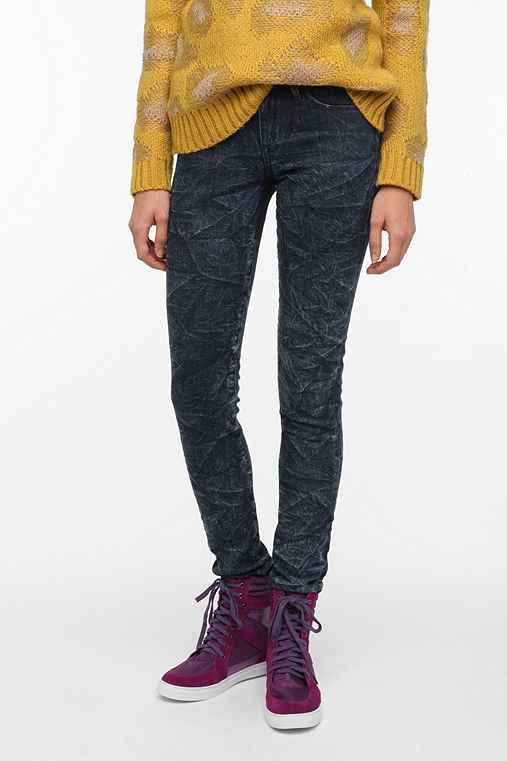 THVM Low-Rise Skinny Jean - Salt