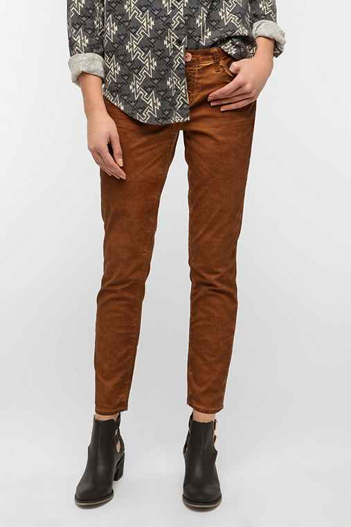 Dittos Dawn Skinny Jean - Saddle Brown