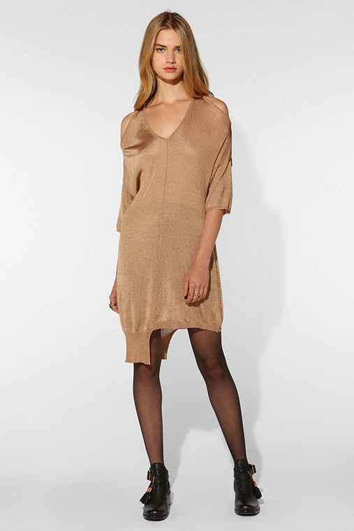 Shakuhachi Silky Knit Cutout Dress