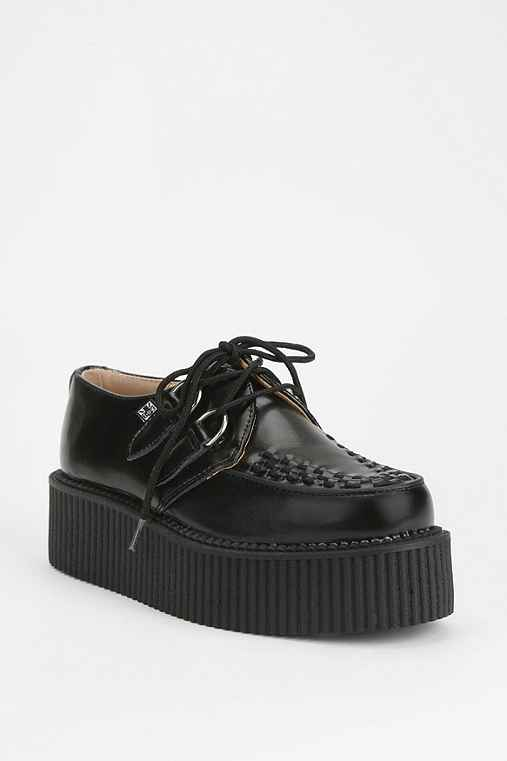 T.U.K. Mondo Leather Creeper