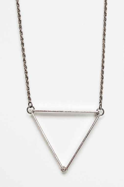 UO Geometric Pendant Necklace