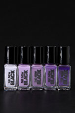 The New Black Ombre Nail Polish - Set of 5