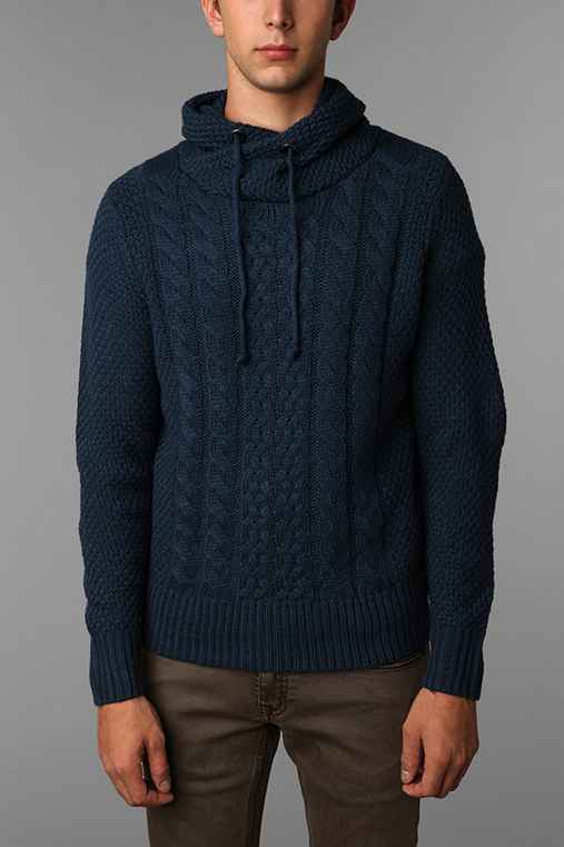 The Narrows Pullover Cableknit Sweater