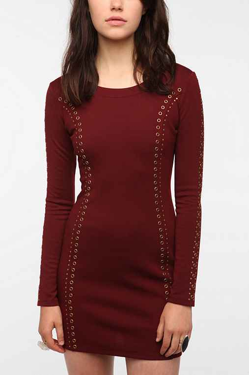Lucca Studded Bodycon Dress
