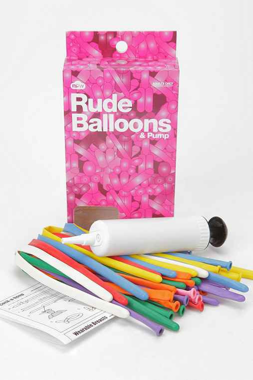 Rude Balloon - Pack Of 24