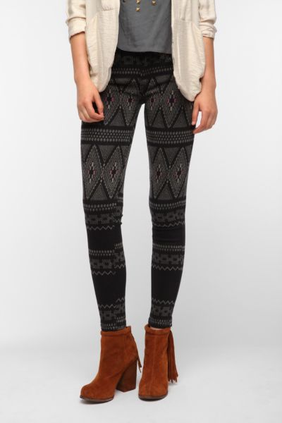 Levi's Denim Legging - Gypsy Print