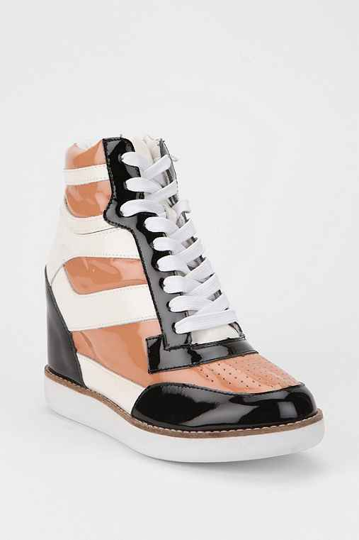 Jeffrey Campbell Napoles High-Top Wedge-Sneaker
