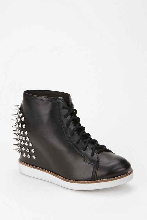 Jeffrey Campbell Stud-Back Edea Wedge-Sneaker
