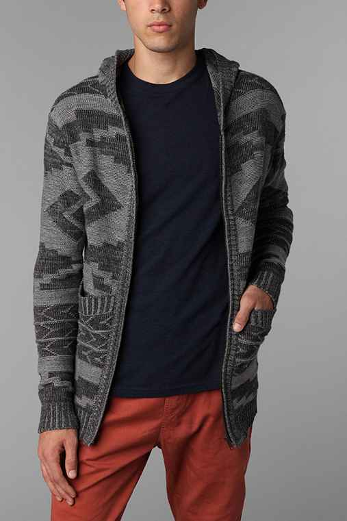 Vanguard G Patterned Sweater Hoodie