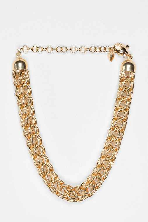 MariaFrancescaPepe Tubular Chain Choker Necklace