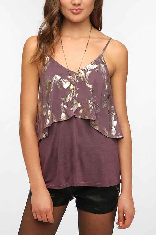 Sparkle & Fade Double Layer Cami