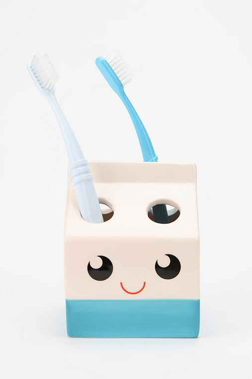 My Paper Crane By Heidi Kenney Milk Carton Toothbrush Holder
