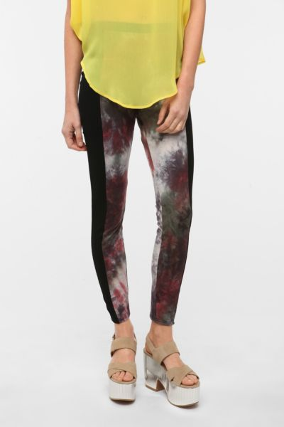 Staring at Stars Tie-Dye Panel Legging