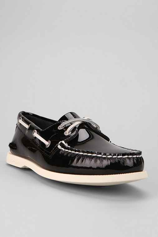 Sperry Top-Sider 2-Eye Patent Boat Shoe