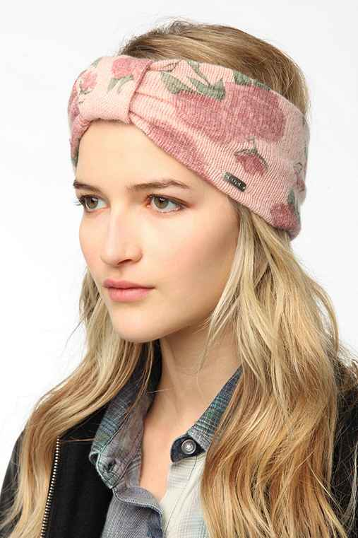 Coal Josie Floral Ear Warmer