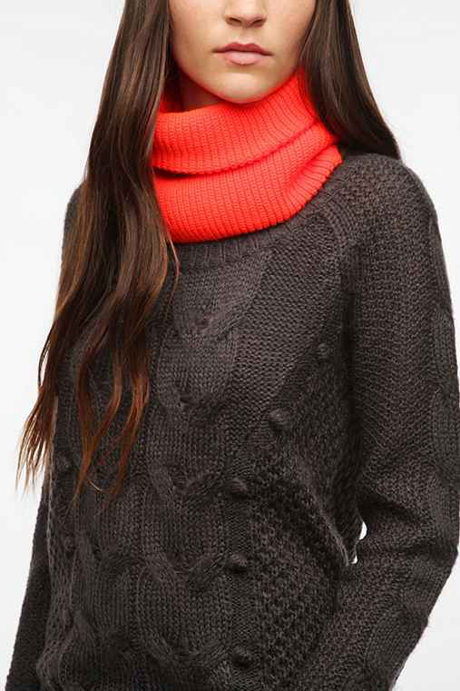 Coal Frena Neck Warmer Eternity Scarf
