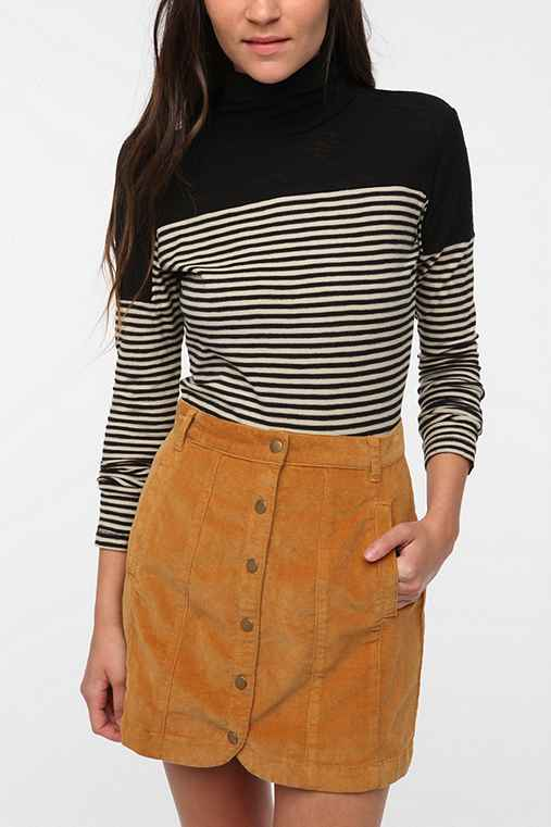 WeSC Margie Knit Turtleneck Top
