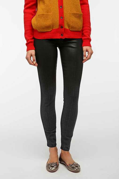 Rich & Skinny Legacy Skinny Jean - Oil Laser Plaid