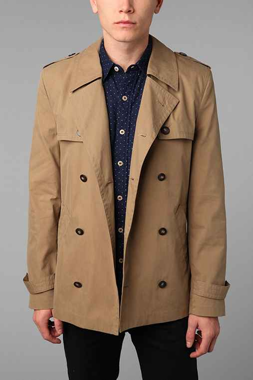 D Collection Trench Coat