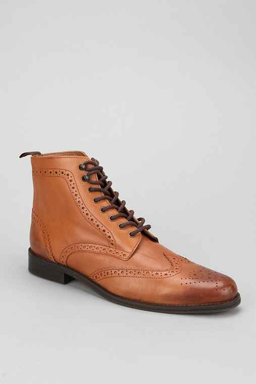 Hawkings McGill Leather Brogue Boot