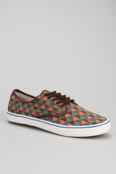 UO Patterned Canvas Sneaker