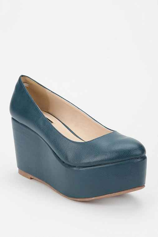 Deena & Ozzy Simple Platform Wedge