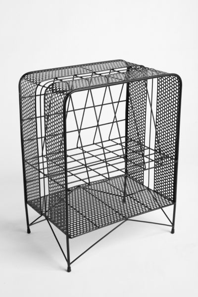 Perforated Record Rack
