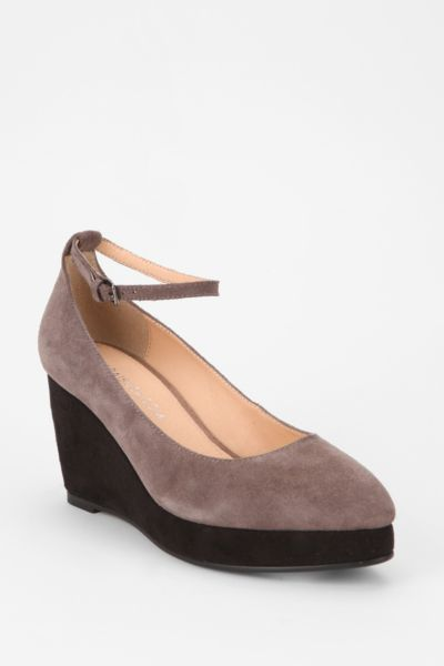 Marais USA Suede Platform Wedge