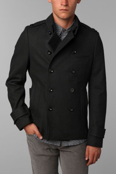 D Collection D.P. Pea Coat