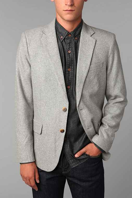 General Assembly Northern Wool Blazer