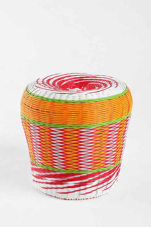 Woven Cable Stool