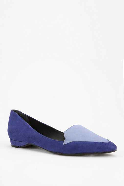 Pour La Victoire Astrid Two-Tone Loafer