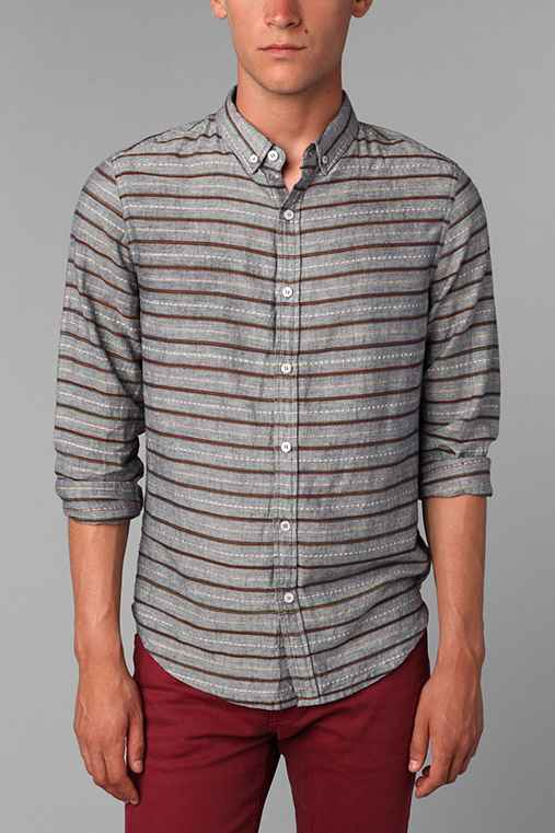 Oxford Lads Marled Stripe Shirt