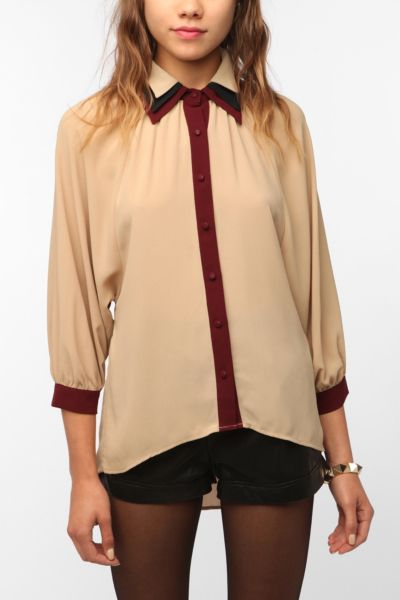 Chandi & Lia Triple Collar Blouse
