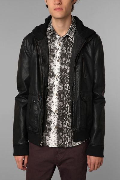 The Narrows Bedford Pleather Jacket