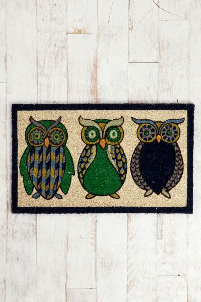 Night Owl Welcome Mat