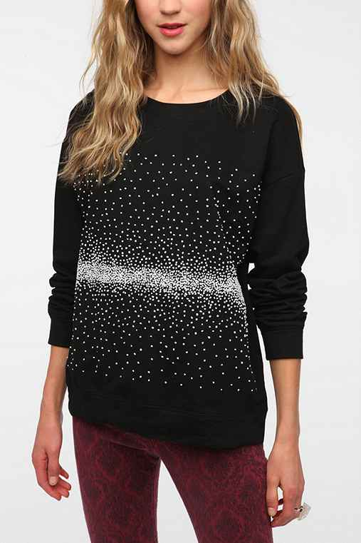 Family Knot Scatter Sweatshirt: Black S Womens Sweatshirts