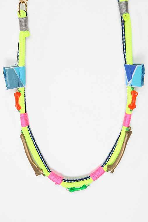 Chrishabana Surf Collection Saccharine Junk Necklace