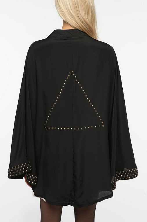 Reverse Studded Pyramid Jacket