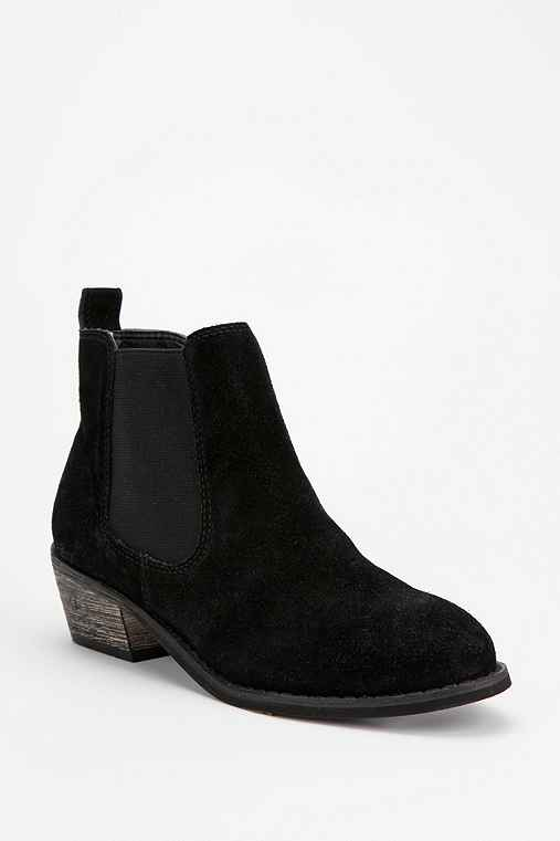 Ecote Distressed Suede Ankle Boot